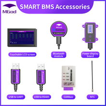 Touch-Lcd-Screen Power-Board Rs485-Cable Smart-Bms-Accessory Bluetooth Canbus UART USB