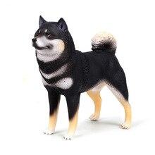 Children's Solid simulation animal dog model Shiba Inu Akita dog model pet toy decoration