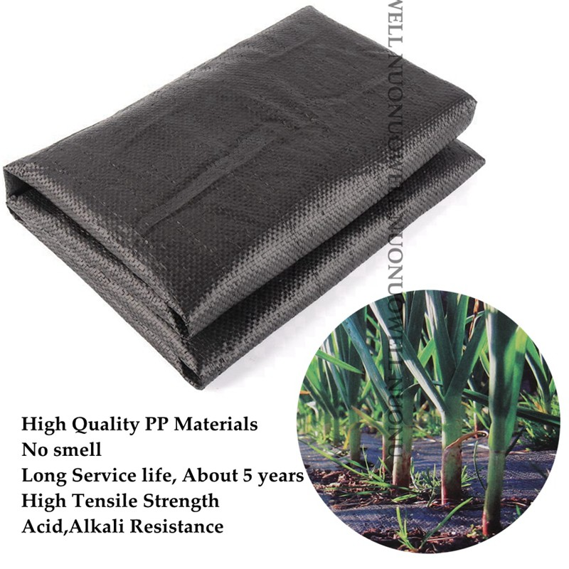 Hi-quality Garden Weedmat Greenhouse Weeding Control Mat Anti Grass Weed Mat Gound Cover Weed Barrier Fabric Mat UV Proof