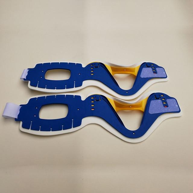 4 en 1 collier de soutien du cou médical réglable respirant civière cervicale Correction soulagement de la douleur vertèbre tracteur orthèse