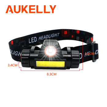1000LM Portable LED Headlamp Flashlight Magnetic USB Rechargeable Headlight XPE Spotlight COB outdoor Built-in 18650 Battery portable xpe led 1000lm display rechargeable wrist watch flashlight torch waterproof