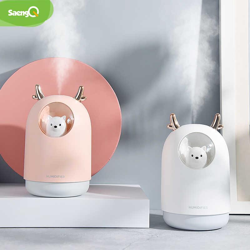 Saengq Usb Diffuseur Ultrasons Humidificateur D Air Arome Electrique Diffuseur D Air Huile Essentielle Aromatherapie Cool Brumisateur Pour La Maison Aliexpress