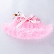 Summer Girls Tutu Skirt For Children New Tutu Kids Solid Color Girl Tutu