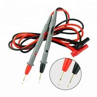 Sonda universal de 20A, 1 par de pines de prueba, adecuado para multímetro digital, multímetro de punta, probador, pluma de cable de sonda de plomo