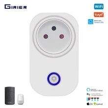 Tuya Smart Wifi Presa di corrente Israele 16A con Power Monitor App/Voice/Temporizzazione di Controllo A Distanza Senza Fili Funziona Con alexa Google Casa