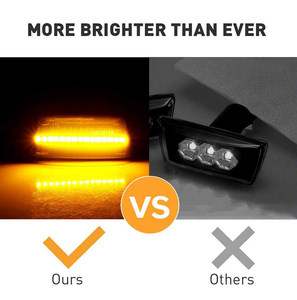 Image 2 - 2x Led Dynamic Side Marker Turn Signal Light Sequential Blinker For Opel Astra H Adam Corsa D E Cascada Insignia A Meriva Zafira