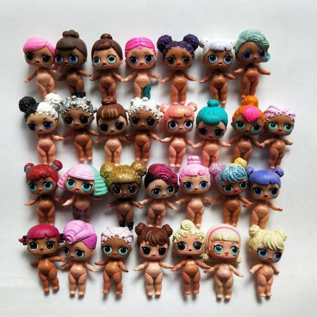 8cm L O L ¡Sorpresa! Nuevas muñecas lol, juguetes Surpris, muñeca de generación DIY Manual, caja ciega, modelo muñeca bebé niña, regalo para niños, juguetes calientes