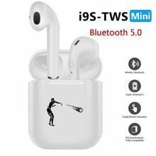 i9s tws Wireless Headphones Bluetooth Earphones earbuds Stereo Sound Headset Player Ball Volleyball Game Sport Decorate Trunk(China)