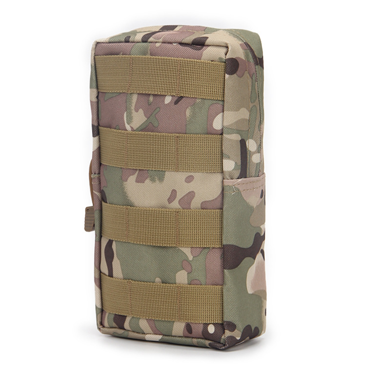 Waterproof Tactical Small Zipper Bag Outdoor Army Fans MOLLE System Accessory Kit Tactical Waist Pack Pannier Bag On Behalf