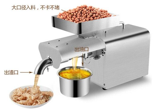 peanut oil press machine_