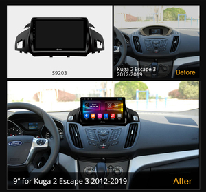 Image 2 - Ownice Android 10.0 2 din 8Core Auto DSP 4G LTE Radio Player GPS Navi DVD k3 k5 k6 per Ford Kuga Fuga di 2 3 2012 2019 Audio SPDIF