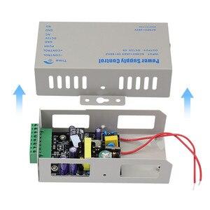 Image 5 - DC12V 5A التحكم في الوصول امدادات الطاقة تحكم التبديل AC90V 260V المدخلات مع تأخير الوقت لمدة 2 أقفال إلكترونية نظام اتصال داخلي