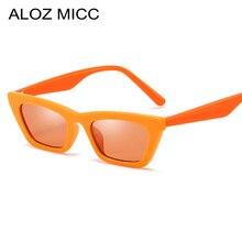 ALOZ MICC 2019 New Small Square Sunglasses Women Men Fashion Computer