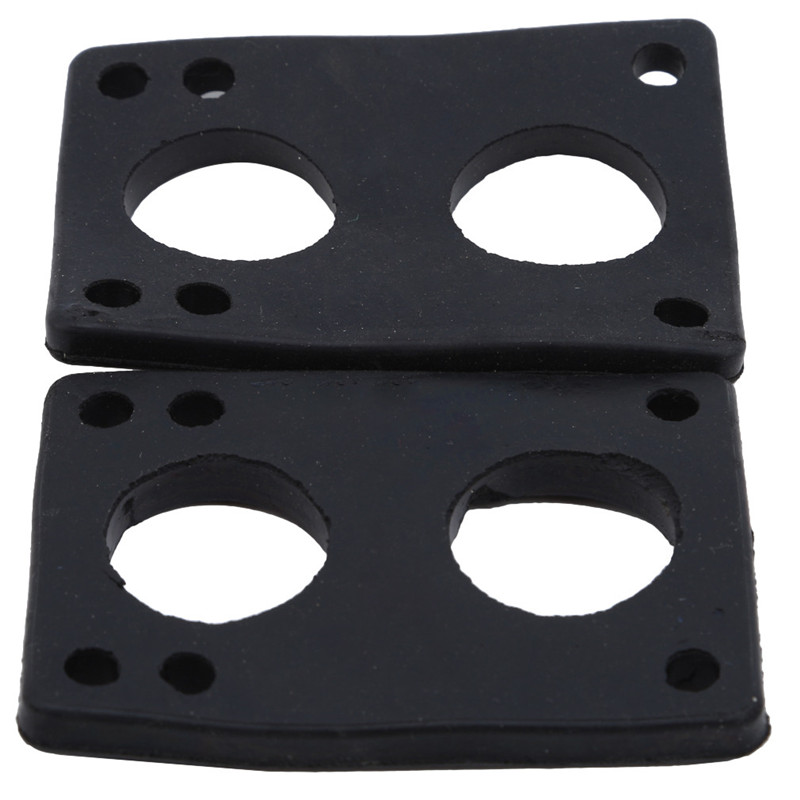 1 Pair Skateboard Riser Pads Longboard Pads For Skate Board Shock Pads Cushion Scooter Shock Proof Truck Gaskets
