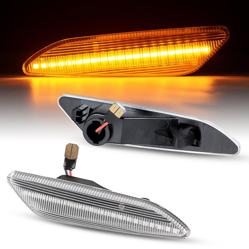 2 шт. Динамический светодиодный боковой маркер указатель поворота Blinker светильник для Alfa-Romeo147 2005-2010 156 1997-2006 для Fiat Tipo для Lancia Delta