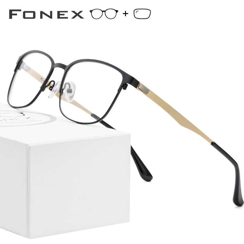 Alloy Prescription Glasses Women Vintage Round Eyeglasses 2019 Men Full Myopia Optical Frames Korean Screwless Eyewear