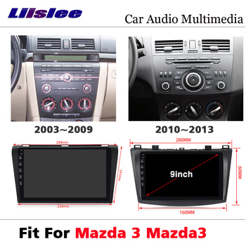 Car AutoRadio DVD Multimedia Player For Mazda 3 Mazda3 2003~2012 Android Radio Audio Touch Screen BT GPS Navi Navigation System image