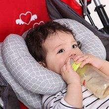 Детские подушки сиденья новорожденный голова Подушка под шею переносное детское кресло безопасности подголовник хлопок мягкая подушка для защиты головы