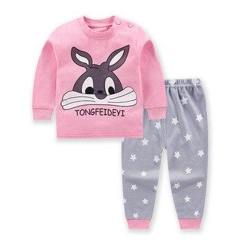 0-24M Baby Clothing Sets Autumn Baby boys Clothes Infant Cotton Girls Clothes 2pcs newborn baby Underwear Kids Clothes Set - g, 24M