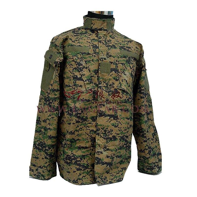 Guangzhou loup esclave extérieur-numérique Jungle Combat costume opérations de plein air champ Combat uniforme formation vêtements armée Fans tissu