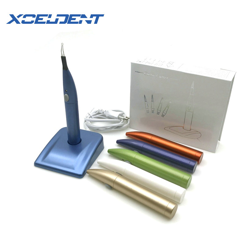 4 Tips Oral Dental Gutta Percha Tooth Gum Cutter Endo Gutta Cutter Gutta Percha Dissolved Breaker Cutter Tooth Whitening Tools
