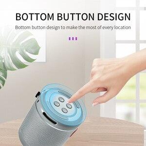 Image 2 - Nieuwe Draagbare Bluetooth Speaker & Telefoon Houder Mini Subwoofer Stof Draadloze Outdoor Parlante 6 Kleuren Ondersteuning Tf kaart USD Schijf