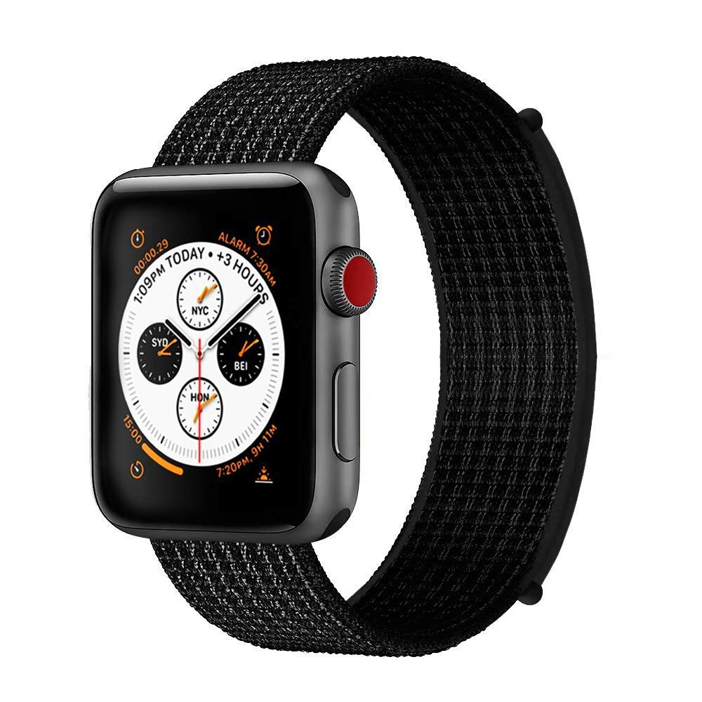 Band For Apple Watch 4 5/3/2/1 38MM 42MM 62 NewColors Nylon Soft Breathable Replacement Strap Loop For Iwatch Series 4 40MM 44MM