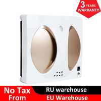 Newest Automatic Window Vacuum Cleaner Robot With Remote Control Framed and Frameless Surface Both Applicable