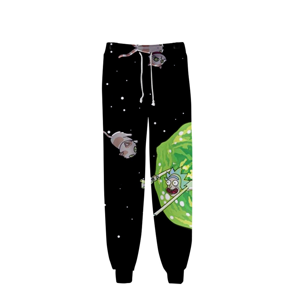 Rick And Morty 3D Printed Jogger Pants Women/Men Fashion Streetwear Long Pants 2019 Hot Sale Casual Streetwear Sweatpants