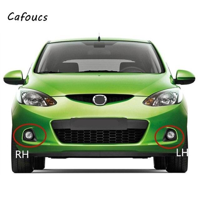 Cafoucs Per Mazda 2 Demio Hatchback Paraurti Anteriore Nebbia Luce Della Lampada Della Copertura Della mascherina