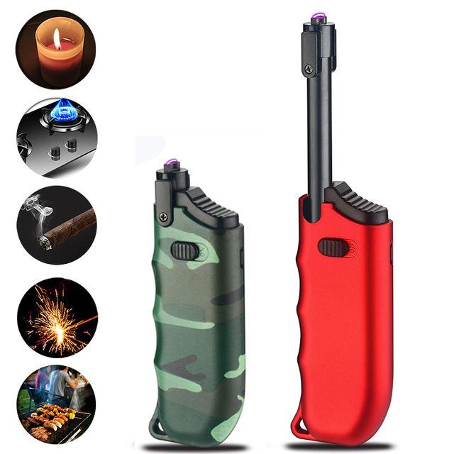 Kitchen Windproof Electric Lighter Cigarette Lighter