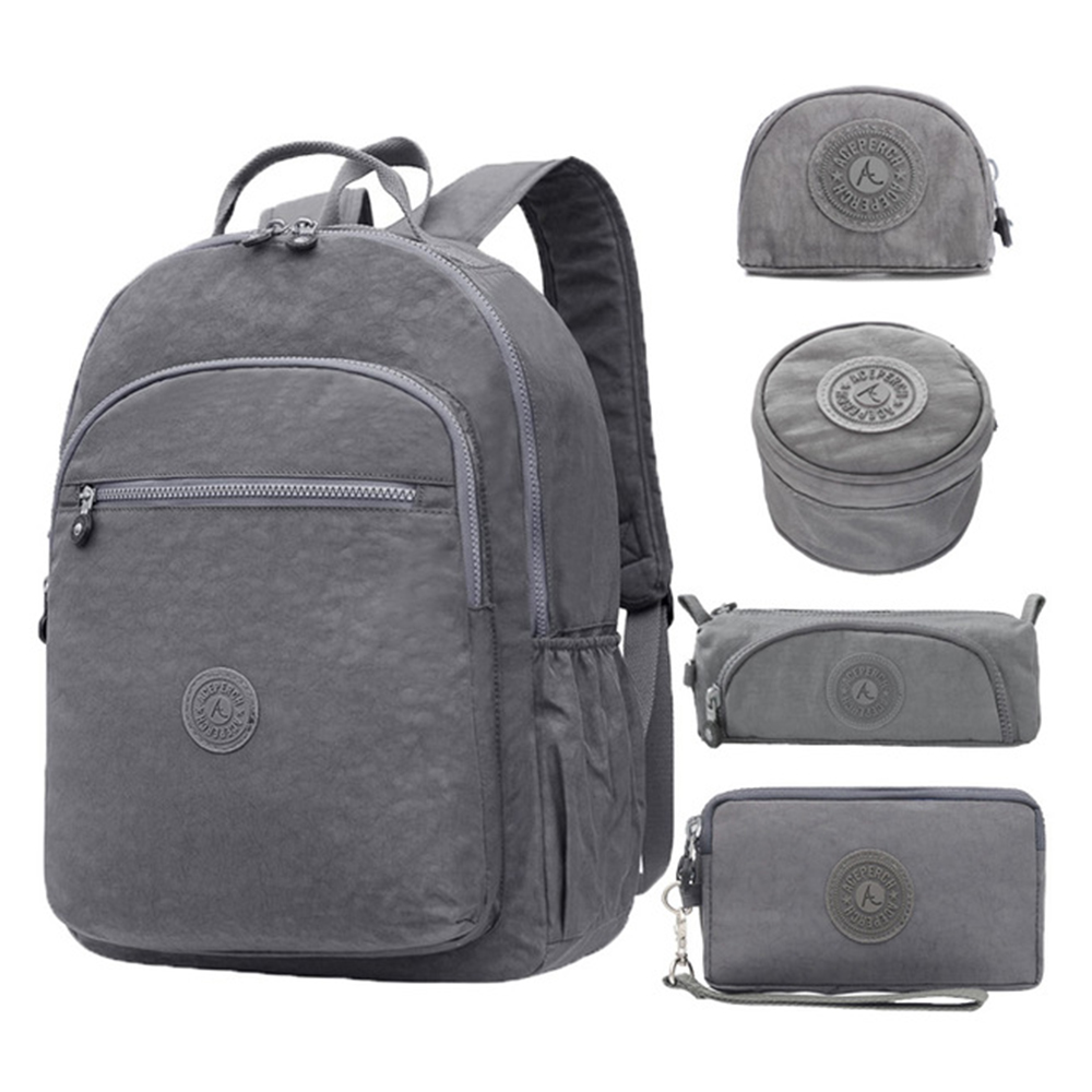 ACEPERCH Girls Backpacks Mochilas Escolares Feminina School Bags For Teenage Girl Women Nylon Bagpack Laptop Backpack Sac A Dos
