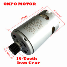 ONPO 14.4V 16 שיניים DC mocro מנוע 1060940 עבור שחור & Decker EGBL148 חשמלי תרגיל מברג אביזרים