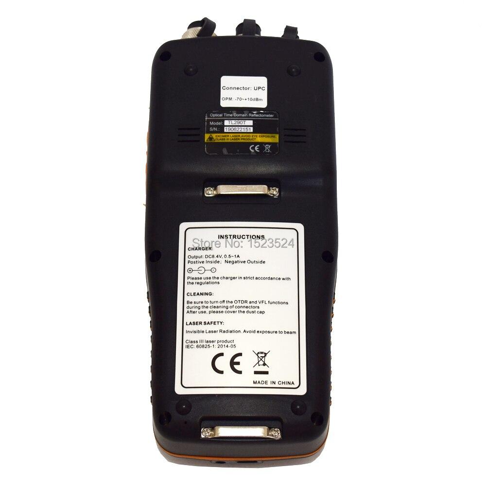 TM290 сенсорный экран Смарт OTDR 1310/1550nm со встроенным VFL OPM OLS OTDR оптический рефлектометр