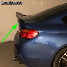 F36 gran Coupe 4 kapı PSM stil karbon Fiber oto araba arka Trunk Spoiler kanat için BMW F36 2014  2017