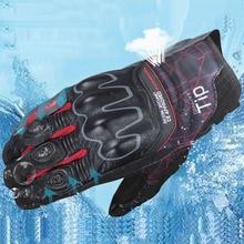 цена на KOMINE Full Finger Motorcycle Moto Non-slip Touch Screen Motocross Gloves Mesh Breathable Racing Riding Motorbike Gloves Guantes