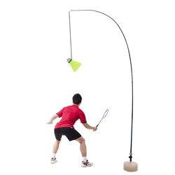 Badminton Racket Shuttlecock Solo Practice Training Aid Serve Sport Exercise Base Powerbase Self Study Equipment Rebound Device