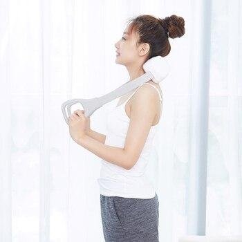 shiatsu neck massager electric massage electric back and neck massager Infrared heated kneading car home massagem
