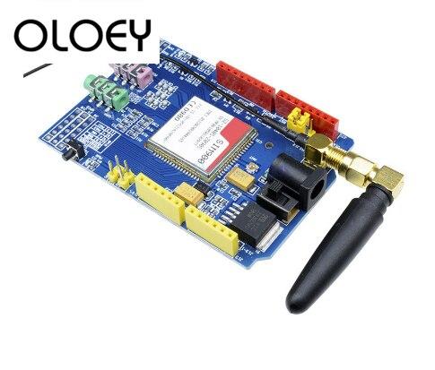 SIM900 850/900/1800/1900 MHz GPRS/GSM Kit De Módulo De Placa De Desarrollo Para Arduino