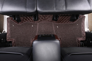 Image 3 - Car floor mat for Lada Toyota Land Cruiser 100 200 Prado120 150 peuge Camry Corolla Highlander Kia BMW Hyundai Volkswagen Nissan