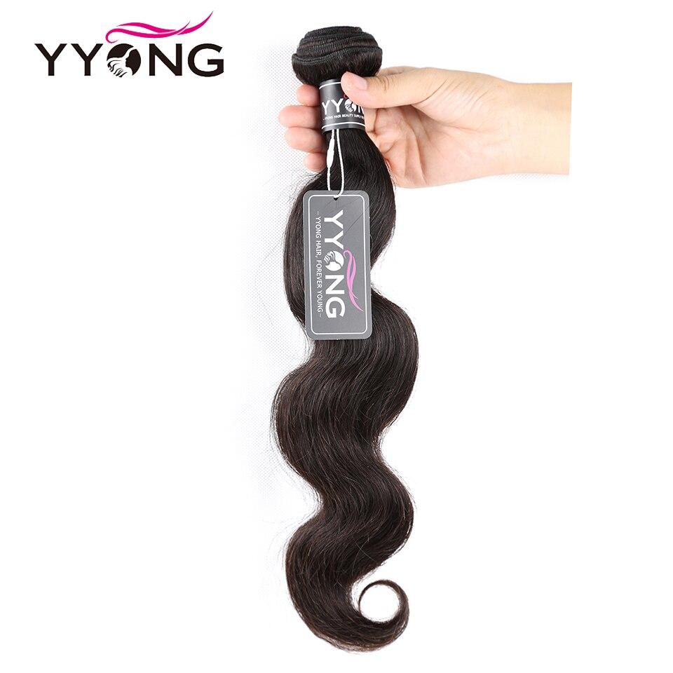 Yyong Hair 3 Bundles With Closure Body Wave  Hair Bundles With Closure 4X4  Bundles With Closure  Hair 3