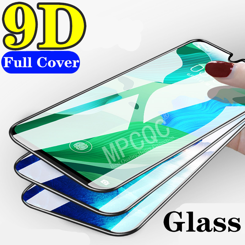 9D Full Cover Protective Glass On ViVO S1 Pro Tempered Glass For Vivo Iqoo Neo U1 V15 Pro Y3 Y12 Y17 Glass Screen Protector Film