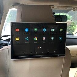 Тонкий ЖК-экран IPS 12,5 дюйма, автомобильный DVD-плеер, ТВ-монитор для развлекательной системы заднего сиденья Infiniti, видеодисплей 4K