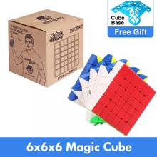 Oryginalne kostki Yuxin 6x6x6 mała magia 6 #215 6 magiczne kostki 6x6x6 prędkość kostki Zhisheng 6 #215 6 cubo magico edukacja Puzzle zabawki dla dzieci tanie tanio Z tworzywa sztucznego Mini yuxin little magic 6x6x6 Cube 12-15 lat 5-7 lat 8 lat 6 lat Dorośli 8-11 lat 3x3x3 Puzzle cube