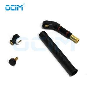 Image 3 - Cabezal de soldadura Tig negro, cuello giratorio, refrigerado por aire, para antorcha WP9