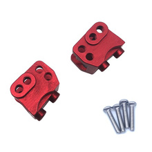 цена на 2pcs CNC Aluminum Front Rear Lower Shock Linkage Link Mount for RC 1/10 Rock Car Axial SCX10-II 90046 90047 AR44 Axle