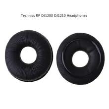 Memory Foam Ohrpolster Kissenbezüge für Technik RP DJ1200 DJ1210 Kopfhörer