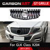 GLK GT גריל עבור Mercede b-enz GLK X204 מתיחת פנים מול פגוש גריל 2013-2015 SUV GLK250 GLK300 GLK350 מול סורג