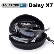 Tactical Men's Polarized Glasses Daisy Military Hunting Goggles 4 Lens Kit