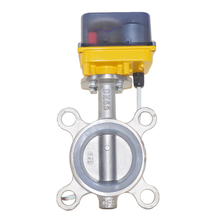 DN40,DN50,DN65 Stainless Steel Electric Butterfly Valve,12VAC/DC,24VAC/DC,AC220V Motorized Butterfly Valve plastic ibc tank container 1000 liters 62mm dn40 and 75mm butterfly valve